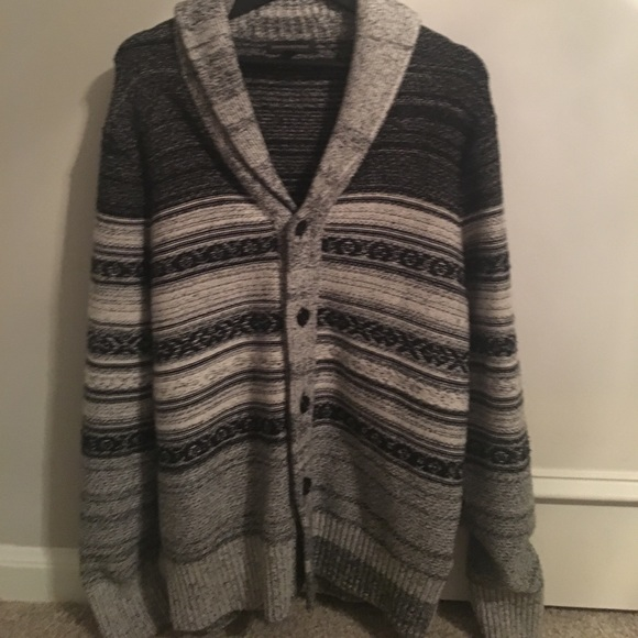 Banana Republic Sweaters Mens Tribal Shawl Collar Cardi Poshmark