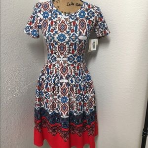 LuLaRoe Dresses & Skirts - 🦄LuLaRoe Dipped Amelia Unicorn XS🦄