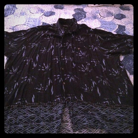 6e8f622e Men's Big & Tall Navy Hawaiian Shirt. M_5951a76dc6c795323f09c09c