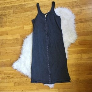 Free People Dresses & Skirts - Free People Thermal Clasp-up Dress with Slits