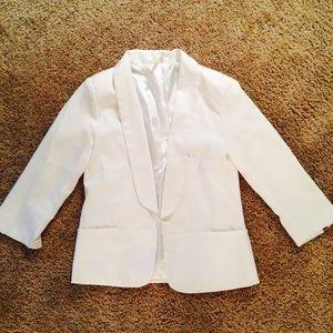 Ami Jackets & Blazers - Women's White Suit Jacket.