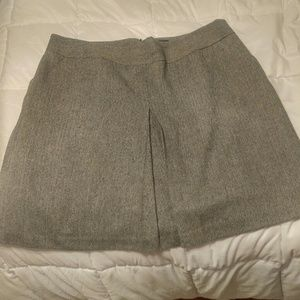 Plus Size Tweed Pencil Skirt with Pockets