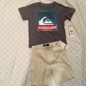 Quiksilver Other - ✨NWT boys 3T Quiksilver matching set✨