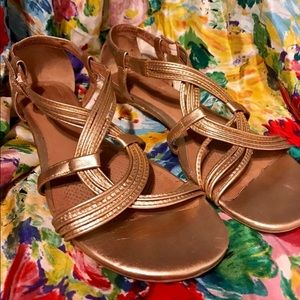 a006c6adfacd2f Corso Como Shoes - Corso Como Rosegold Future Sandals. Gladiator 8.5M
