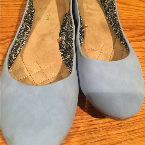 80 Off Basic Editions Shoes Soft Baby Blue Flats From