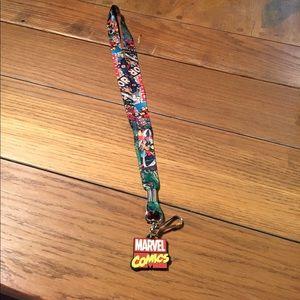 Marvel Comics lanyard