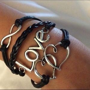 Love,Infinity ❤️ Bracelet 2/$13, 1/$8