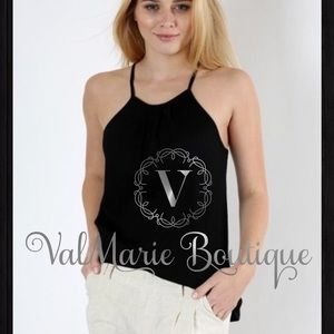 ValMarie Boutique LLC Tops - Light weight ribbed top