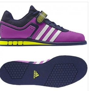 Adidas Powerlift   Ladies Weight Lifting Shoes Pink