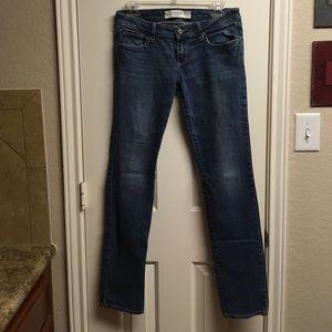 Abercrombie & Fitch Sz 4R jeans - w27 L33