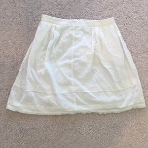 Madewell Women's White Skirt