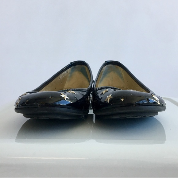 Jimmy Choo Shoes - Jimmy Choo Patent Star Studded Flats