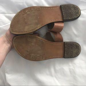 5b26f36d933d6 Sam Edelman Shoes - Sam Edelman Krista Flat Sandal Leather Brown Tan
