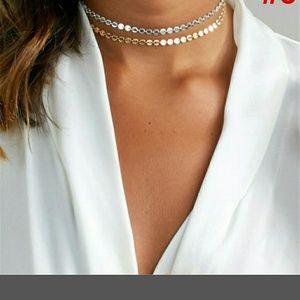 Jewelry - BAOI! Multi-layer coin choker necklace!