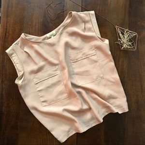 Piko 1988 Tops - Piko 1988 • blush pocket tee