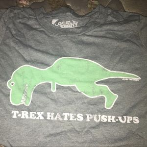 local celebrity Tops - T-Rex graphic T
