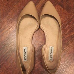 Steve Madden Shoes - Steve Madden Nude Flats