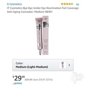 It Cosmetics Other - B2G1FREE👀EYES👀Bye Bye Under Eye Illumination