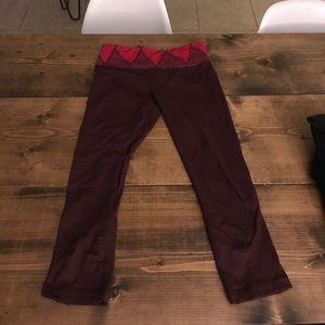 Lululemon cropped leggings - size 6