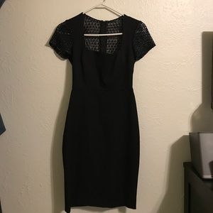 Dress from Banana Republic by Roland Moret.