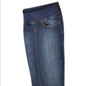 Isabella Oliver Dresses & Skirts - Isabella Oliver Sabine Maternity Denim Skirt