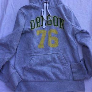 Oregon college hoodie size small U of O Ducks!