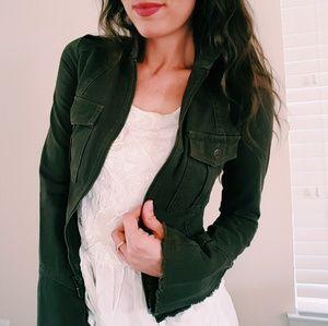 Joie Jackets & Blazers - Joie   olive denim jacket   XS