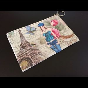 "Accessories - NEW-Stylish Keychain & Coin Pouch 4"" x 6"""