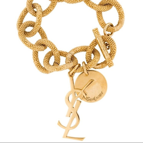 375633d6700 Yves Saint Laurent Jewelry | Ysl Gold Bracelet | Poshmark