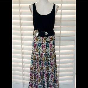 Tolani Dresses & Skirts - Tolani Floral Silk Maxi Skirt - NEW