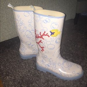 ⭐️WORN ONCE⭐️ Rare Bubble Coach Galoshes