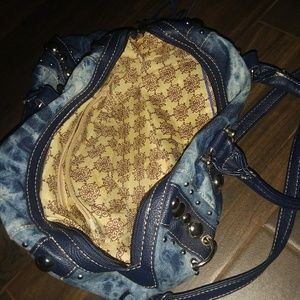 Blue lady purse pickup only for sale