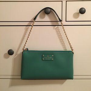 Kate Spade Byrd Wellesley Handbag in Verna (Green)