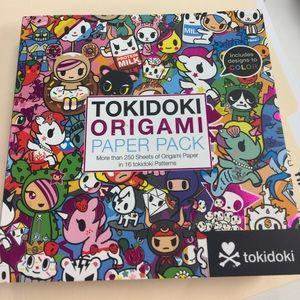 tokidoki Accessories - Tokidoki origami paper