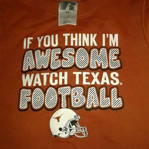 Russell Athletic Other - Never Worn Child's Texas Longhorns Sweater Orange
