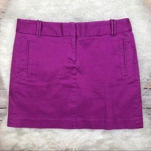 J. Crew Factory Dresses & Skirts - NWT J. Crew Factory Flat Front Mini Skirt