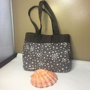 Thirty one chocolate brown tote