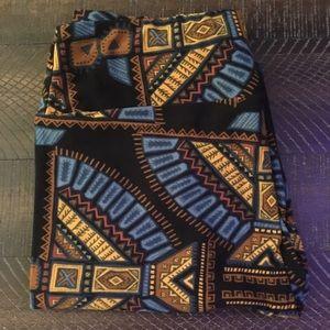 OS Egyptian Print LuLaRoe leggings. NWOT.