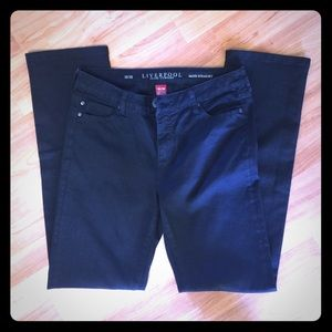 Liverpool Jeans Company Pants - Liverpool Jeans Co Sadie Straight Black Size 10