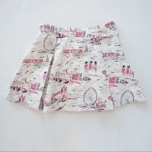 Janie and Jack Other - Janie and Jack London A-line skirt pink, pleats