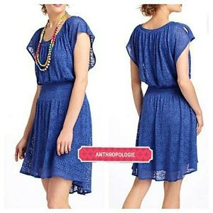 Leifnotes Midi Smocked Dress - Anthropologie