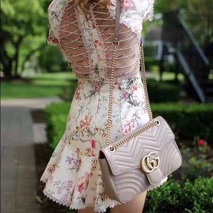 Zimmermann Dresses & Skirts - Zimmermann Mercer Flutter Floral Mini Dress Ivory