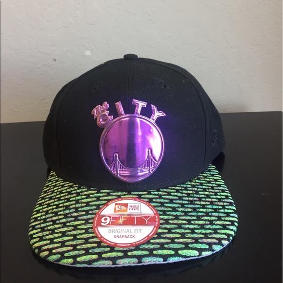 best service 58627 61f0c New Era 9Fifty 2016 Warriors Oil Tricked Hat