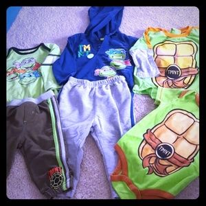Other - TMNT sets and onsies