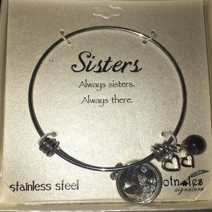 Jewelry - Stainless Steal Sisters Charm Bracelet