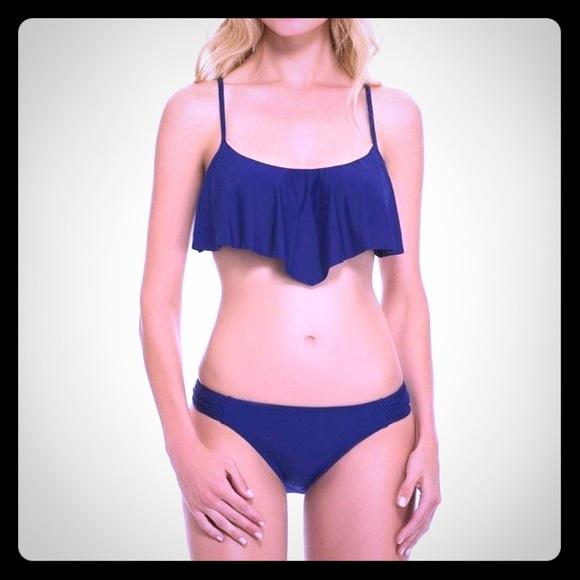 Gottex Other - GOTTEX Contour CollectionNavy Bikini Bottom-SW-13