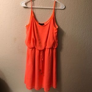 Dresses & Skirts - Bright orange summer dress.