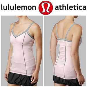 Lululemon Light Up Tank Top Reflective Straps