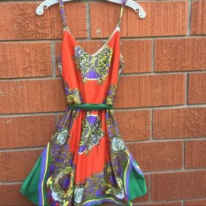 Mimi Chica Dresses & Skirts - Adorable colorful dress. Ties in back