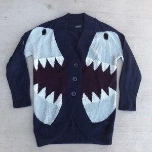 Topshop Sweaters - Topshop Shark Cardigan